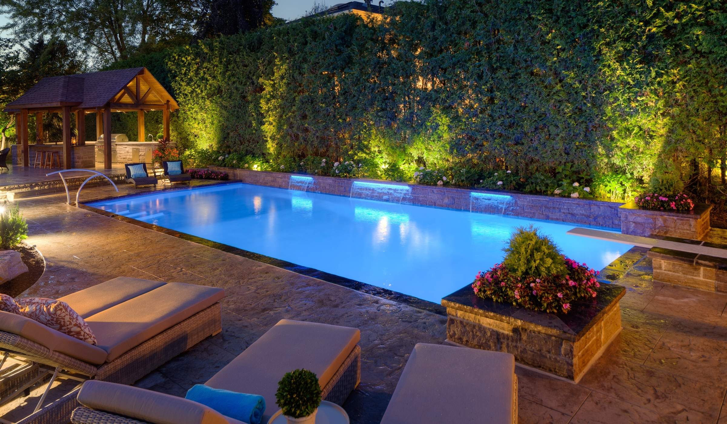 Landscape Amp Pool Lighting Betz Pools
